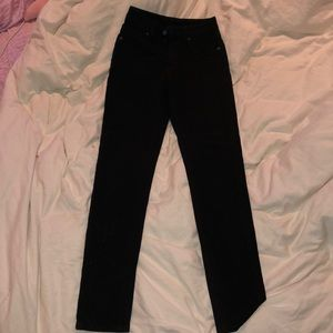 Black carmar jeans